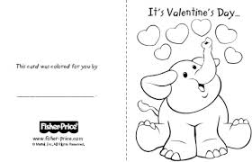 Day Cards To Print Printable Valentines Day Cards To Color Cards To Print For Kids To