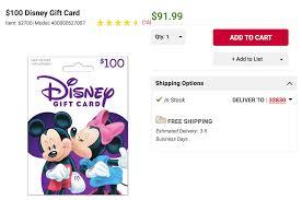 disney gift cards 8 percent off at bj s stack for more savings miles to the magic