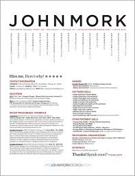 resume design ideas - like the vertical listing the rest is too ...