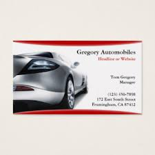 Car Dealer Business Cards & Templates | Zazzle