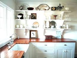 Rustic Open Shelving Kitchen Cabinets For Sale Rustic Kitchen