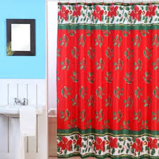 Christmas Shower Curtain Set Sets | Wayfair