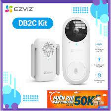 Bộ chuông cửa có hình không dây EZVIZ CS-DB2C-A0-1E3WPBR
