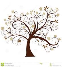 Tree Design Vector Autumn Tree Design Stock Vector Illustration Of Fashion