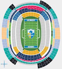 Surprising Los Angeles Rams New Stadium Seating Chart Los