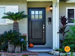 fiberglass front door craftsman style