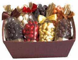 chocolate fruit nut gift basket the evening star kitchen gift baskets gifts and basket
