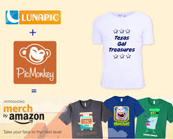 Creat A Shirt How To Create A Shirt For Merch By Amazon Using Picmonkey Lunapic