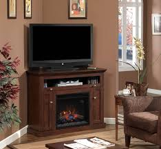 living room electric corner fireplace tv stand incredible real flame churchill 51 in media console