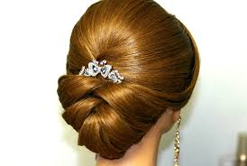 Shinion Hair Style 2014 Wedding Hairstyle For Medium Long Hair Bridal Updo Youtube 3254 by wearticles.com