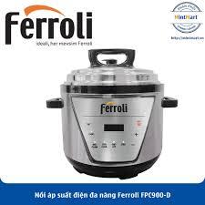 Nồi áp suất điện đa năng Ferroli FPC900-D - Hàng Chính Hãng - mintmart.vn