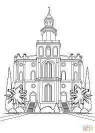 Small Picture St George Temple Coloring Coloring Coloring Pages