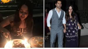 Varun Dhawan Celebrates Girlfriend ...