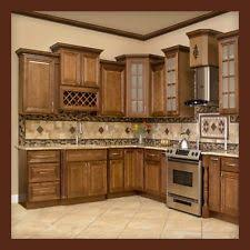 Kitchen cabinets wood Lowe 10x10 All Solid Wood Kitchen Cabinets Geneva Rta Ebay Wood Kitchen Cabinets Ebay