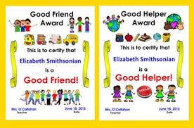 End Of The Year Awards Editable For Prek Kindergarten First Grade