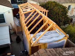 Small Picture Framing the Loft Rafters Tiny House Giant Journey