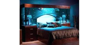 Bedroom Aquarium Fish Aquarium Luxurious Bedroom Sea Themed Bedroom  Accessories