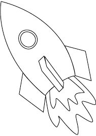 Small Picture Space ship coloring page online Class Pinterest Space ship