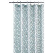 sea glass shower curtain ringshome decorators collection nuri 72 in shower curtain in seaglass