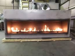gas fireplace zero clearance gas fireplace yellow flame