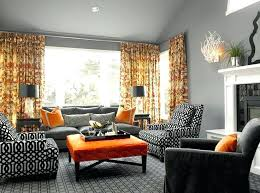 orange accent wall living room with orange accents best grey and orange living room ideas on orange accent wall