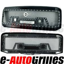 2001 Ford F250 Light Bar Details About Eag Fit 05 07 Ford Super Duty Mesh Rivet