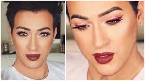 bold red eyeliner makeup tutorial mannymua makeupgeek palette you