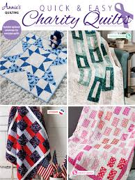 quick easy charity quilts pattern book