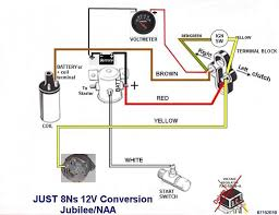 wiring diagram for ford naa tractor yesterday's tractors Ford 9n Wiring Harness golden jubilee restore ford 9n, 2n, 8n forum yesterday's tractors, wiring ford 9n wiring harness 12 volt