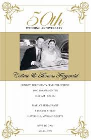 clic 50th wedding anniversary invitations