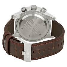 nixon 48 20 chrono leather chronograph brown dial men s watch a363 1887