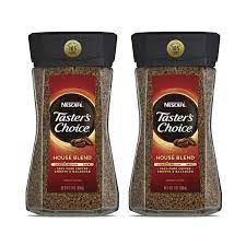 Nescafe taster's choice instant coffee, 12 ounce. Amazon Com Nescafe Taster S Choice House Blend Instant Coffee 7 Ounce Pack Of 2 Grocery Gourmet Food