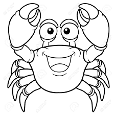 Small Picture Water Animal Crab Coloring Pages Womanmatecom