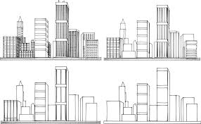 Exellent Architecture Buildings Drawings Elevations Drawingpng On