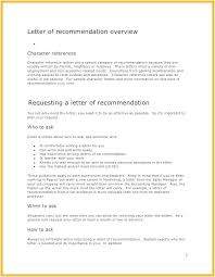 Character Reference Letter For Scholarship How To Write A