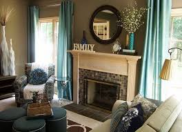 Contemporary Home Decor Accents contemporary living room teal and brown decor accent colors 71