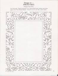 Paper Picture Frame Templates