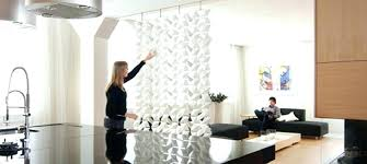 how to divide a room with a temporary wall divider home diy ideas uk home decor