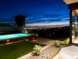 view modern house lights. Sunset Strip Luxury Modern House With Amazing Views Of Los Angeles, California View Lights