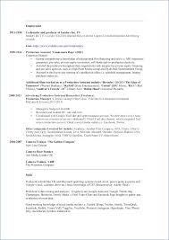 Production Assistant Resume Inspiration 718 Production Assistant Resume Peterpanplayersorg
