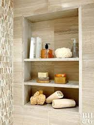 how to make wall shelves recessed shower shelving solution wall shelves ideas decor how to make