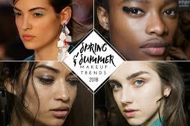 makeup makeup trends spring makeup trends summer makeup trends runway beauty