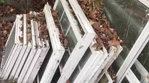 recycled window greenhouse build