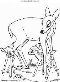 Disegni Bambi Da Colorare Mondo Bimbo