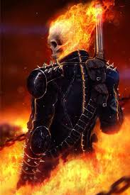 ghost rider art iphone 4 wallpaper