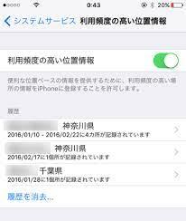 Iphone 位置 情報 履歴