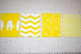 wall art outstanding yellow and grey wall art yellow wall art decor four yellow