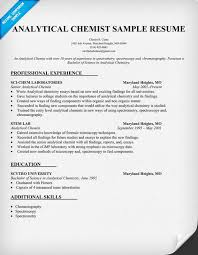 chemistry resumes download chemist sample resume haadyaooverbayresort com
