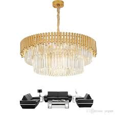 new modern crystal chandelier for living room luxury round hanging lighting fixtures home decoration led cristal re wine glass chandelier large