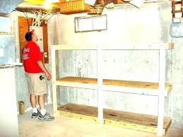 full size of diy garage storage loft plans wooden wood overhead how to make shelves build